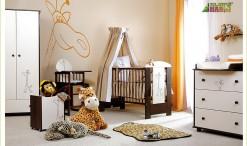 Łóżeczko niemowlęce Klupś