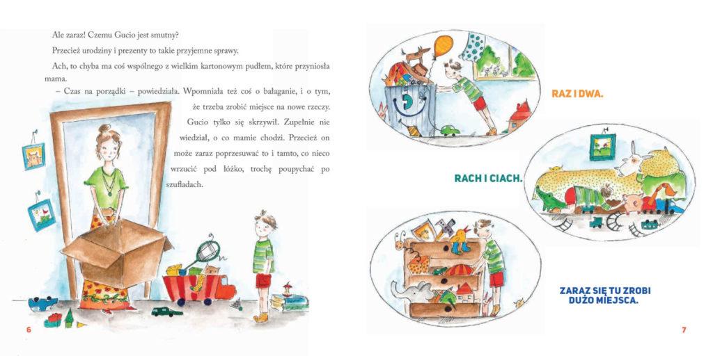 ksiązka o szacunku do rzeczy przedszkolak